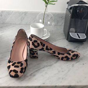 Kate Spade leopard Milan print pumps